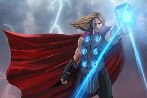 God Of Thunder New Art