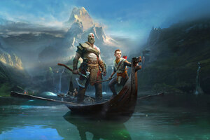 God Of War 4 2018 Wallpaper