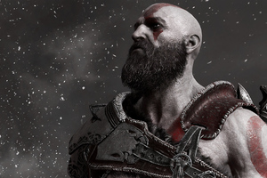 God Of War 4 4k Wallpaper