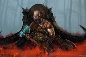 God Of War 4 Art