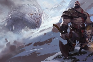 God Of War 4 Fanart