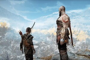 God Of War 4 Kratos And Atreus 4k