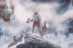 God Of War 4k Wallpaper