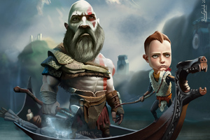 God Of War Artwork Wallpaper