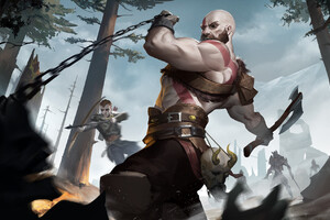 God Of War Fanartwork Wallpaper