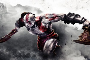 God Of War Kratos Game Wallpaper