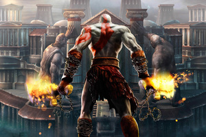 God Of War Kratos