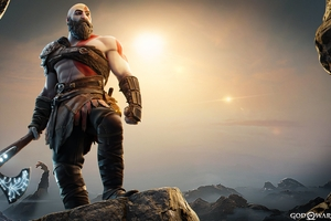 God Of War Kratos In Fortnite 2021 Wallpaper