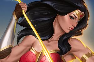 Goddess Of War Wonder Woman