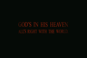 Gods In His Heaven Wallpaper