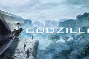 Godzilla Animated Movie 2017 Concept Art Wallpaper