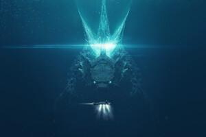 Godzilla King Of The Monsters Art