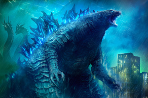 Godzilla King Of The Monsters Movie 4k Art Wallpaper