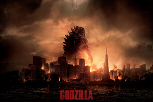 Godzilla Movie Wide