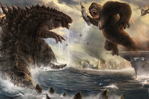 Godzilla Vs King Kong 4k