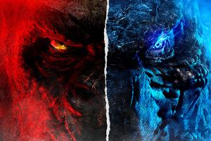 Godzilla Vs Kong Movie 8k Wallpaper