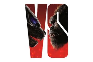 Godzilla Vs Kong White Poster 5k