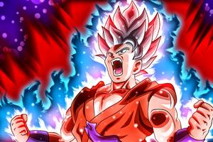 Goku Kaioken 4k