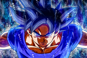Goku Ultra Instinct Refresh 8k Wallpaper