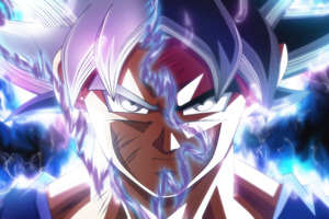 Goku Ultra Instinct Transformation Wallpaper