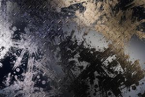 Gold Grey Dust Splash 4k Wallpaper