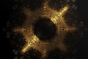 Gold Materials 8k Wallpaper
