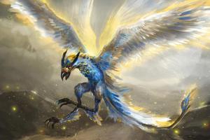 Golden Eagle 4k Wallpaper