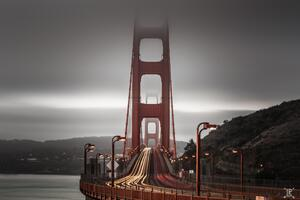 Golden Gate Bridge Long Exposure 8k