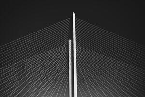 Golden Gate Bridge Minimalist 5k