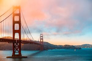 Golden Gate Bridge Morning 5k Wallpaper
