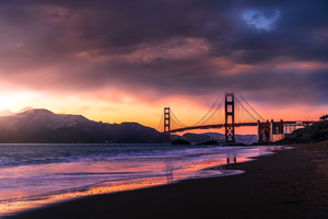 Golden Gate Bridge SanFrancicso 4k Wallpaper