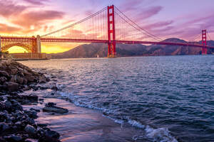 Golden Gate Bridge US 5k 2019 Wallpaper