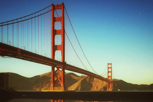 Golden Gate Suspension Bridge 4k Wallpaper