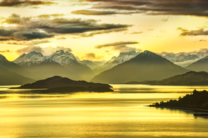 Golden Glenorchy 8k Wallpaper