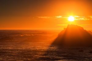 Golden Hour Sunset 4k Wallpaper
