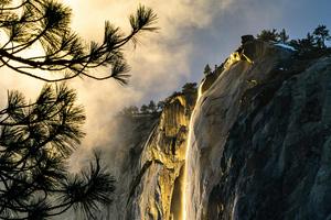 Golden State Yosemite National Park 4k