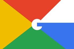 Google Logo Minimalism 4k Wallpaper