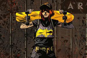 Gordon Batgirl 4k Wallpaper