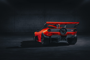 Gordon Murray Automotive T50s Niki Lauda 2021 Rear Wallpaper