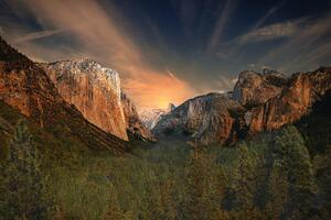 Gorgeous Yosemite Valley El Captain 4k Wallpaper