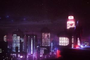 Gotham City Beyond Wallpaper