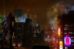 Gotham Knights Red Hood 4k Wallpaper
