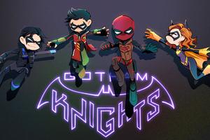 Gotham Knights Superheroes 4k