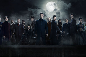 Gotham Season 3 Cast 4k 8k Wallpaper
