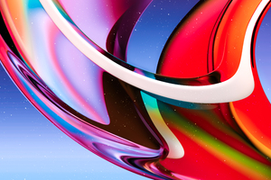 Gradient Glass Abstract 8k