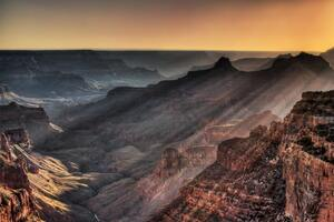 Grand Canyon Golden Hour 5k Wallpaper