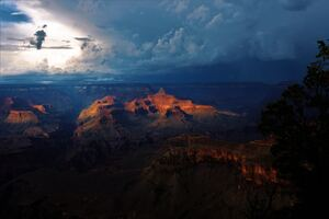 Grand Canyon National Park In Arizona 5k