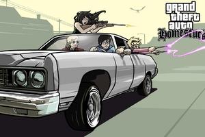 Grand Theft Auto Homestuck Wallpaper