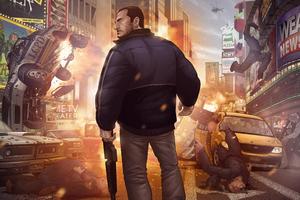 Grand Theft Auto IV Finale