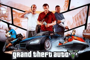 Grand Theft Auto V HD Wallpaper